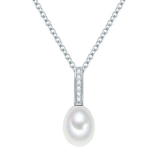 Valero Pearls Perlenkette »NW154« (1-tlg), mit Süßwasser-Zuchtperlen