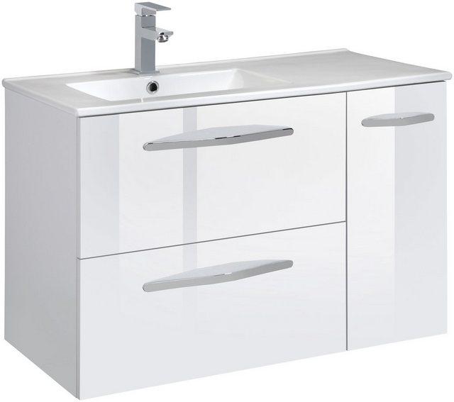 Waschtische - CYGNUS BATH Waschtisch »Basilea«, Breite 85 cm, Waschmulde links  - Onlineshop OTTO