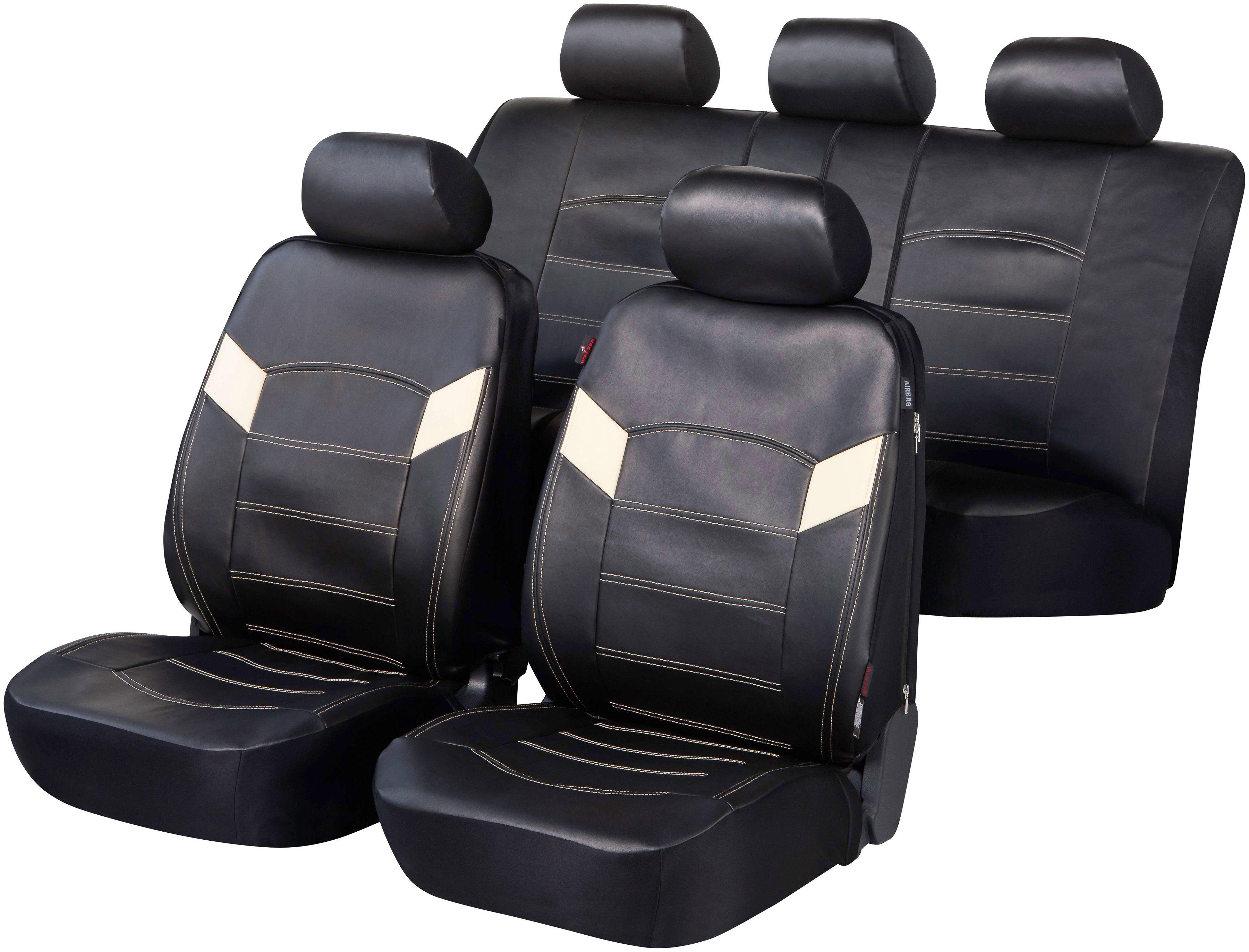 WALSER Autositzbezug »Essex«, Mit Reissverschlusssystem