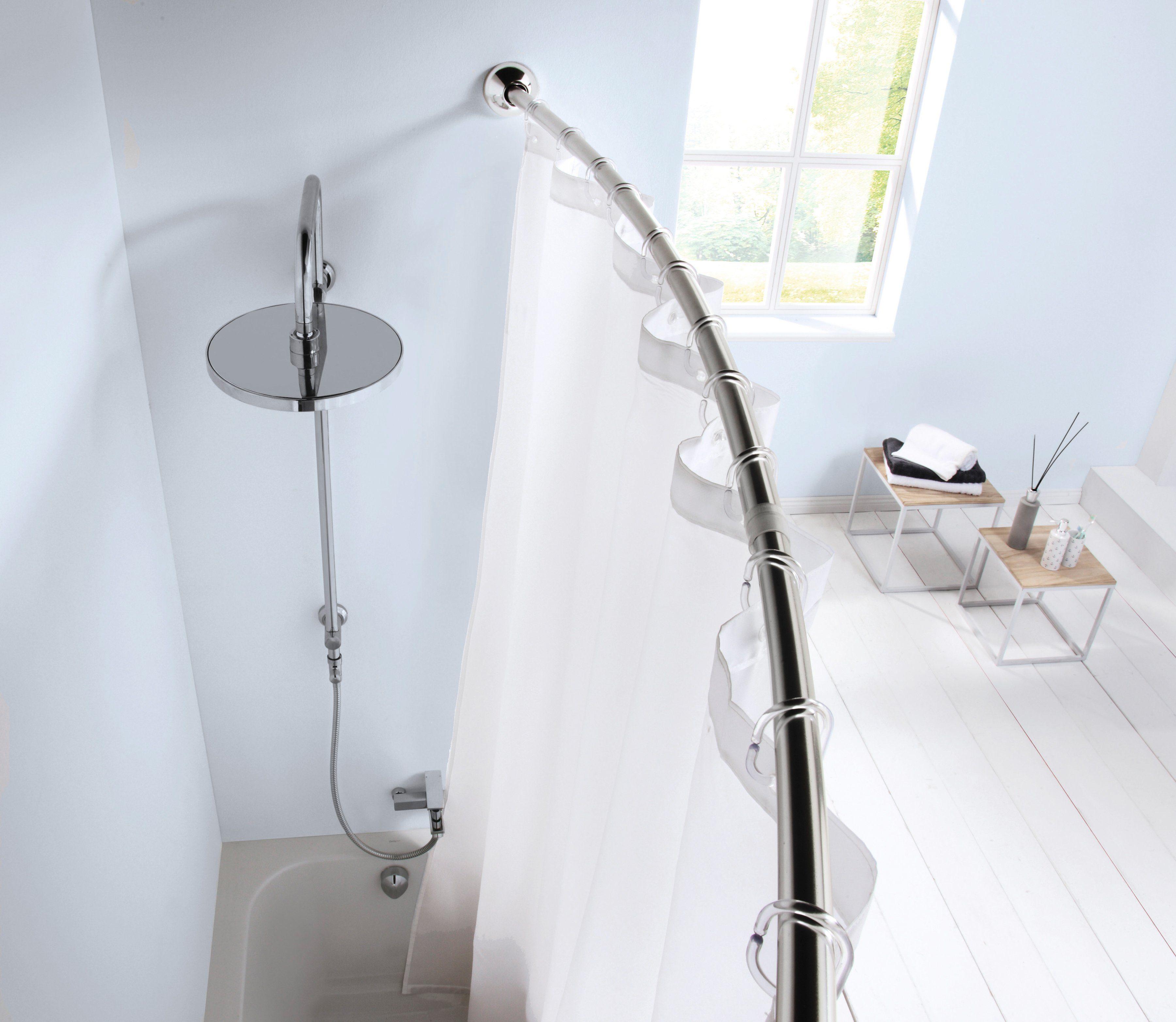 KLEINE WOLKE Duschstange »Bogenstange«, 125 - 220 cm