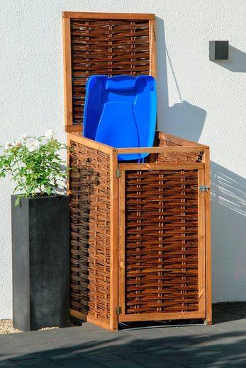 DOBAR Mülltonnenbox 240l, BxTxH: 70x83x132 cm