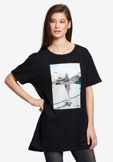 khujo Print-Shirt »ANNE 80's MADNESS« mit Skater-Print