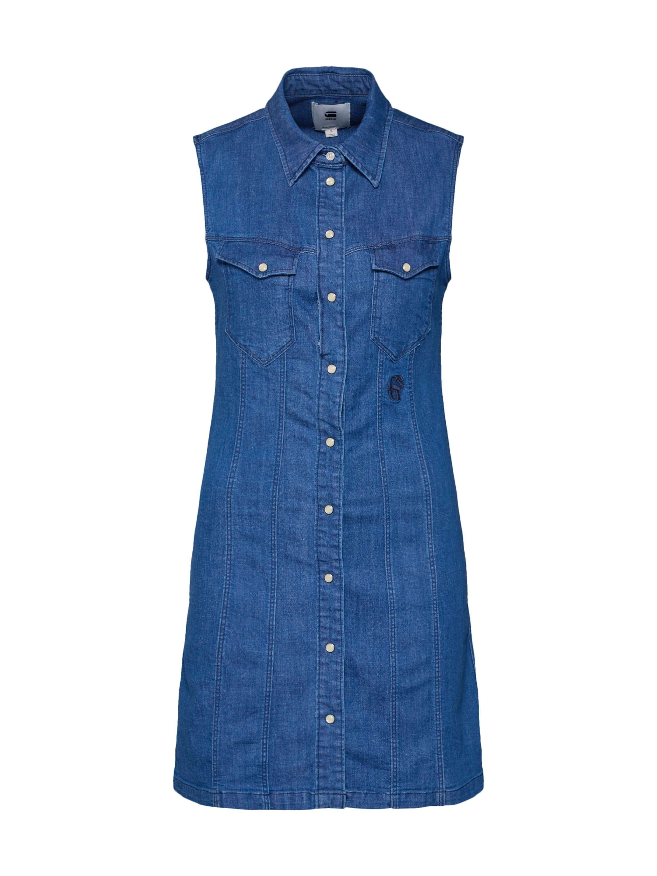 G-Star RAW Jeanskleid »Tacoma slim dress s\less«