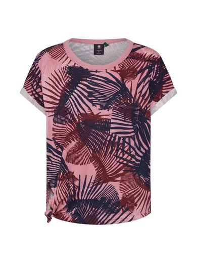 G-Star RAW Rundhalsshirt »Yiva pkt r t wmn s\s« Cut-Outs