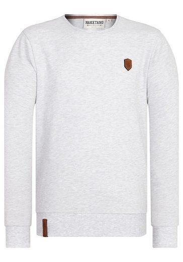 naketano Sweatshirt »Al K.Ohol«