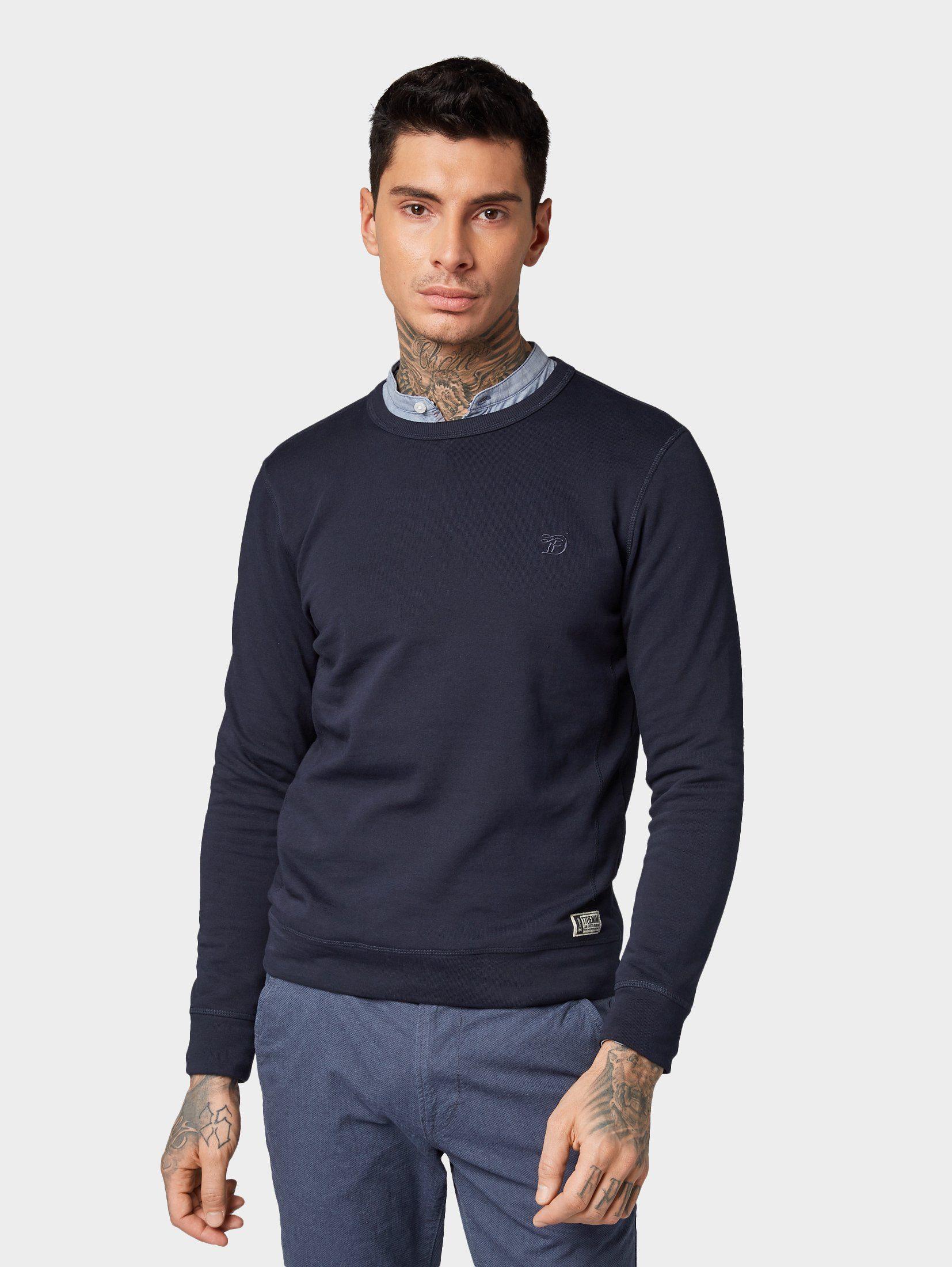 TOM TAILOR Denim Sweatshirt »Schlichtes Sweatshirt«