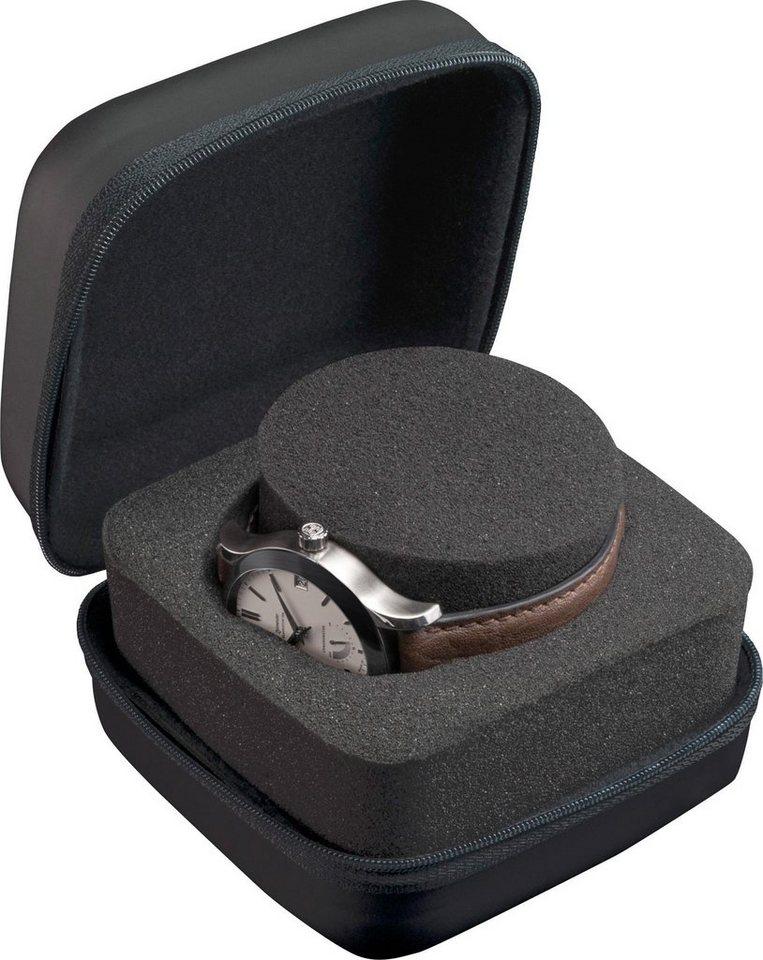 Boxy Uhrenetui »324185«   Uhren > Uhrenboxen   Schwarz   Boxy