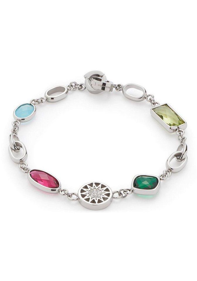 LEONARDO Edelstahlarmband »Chiaro Darlin´s, 016826« mit Glas- und Kristallsteinen   Schmuck > Armbänder > Edelstahlarmbänder   Bunt   LEONARDO