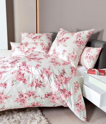 Bettwäsche »Carmen 53076«, Janine, mit floralem Muster
