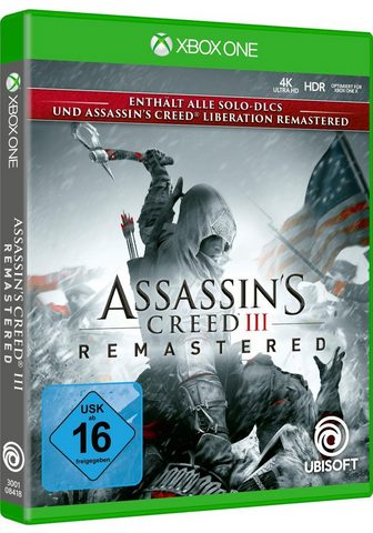 UBISOFT Assassin's Creed 3 Remastered Xbox One...