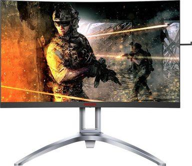 AOC AG273QCX Curved-Gaming-Monitor (2560 x 1440 Pixel, WQHD, 1 ms Reaktionszeit, 144 Hz)