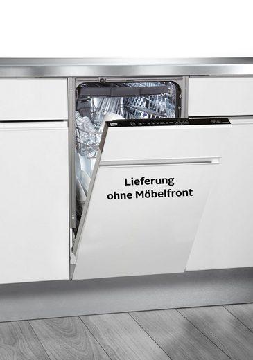 BEKO vollintegrierbarer Geschirrspüler, DIS48130, 8,7 l, 11 Maßgedecke, mit Intensiv 70°C