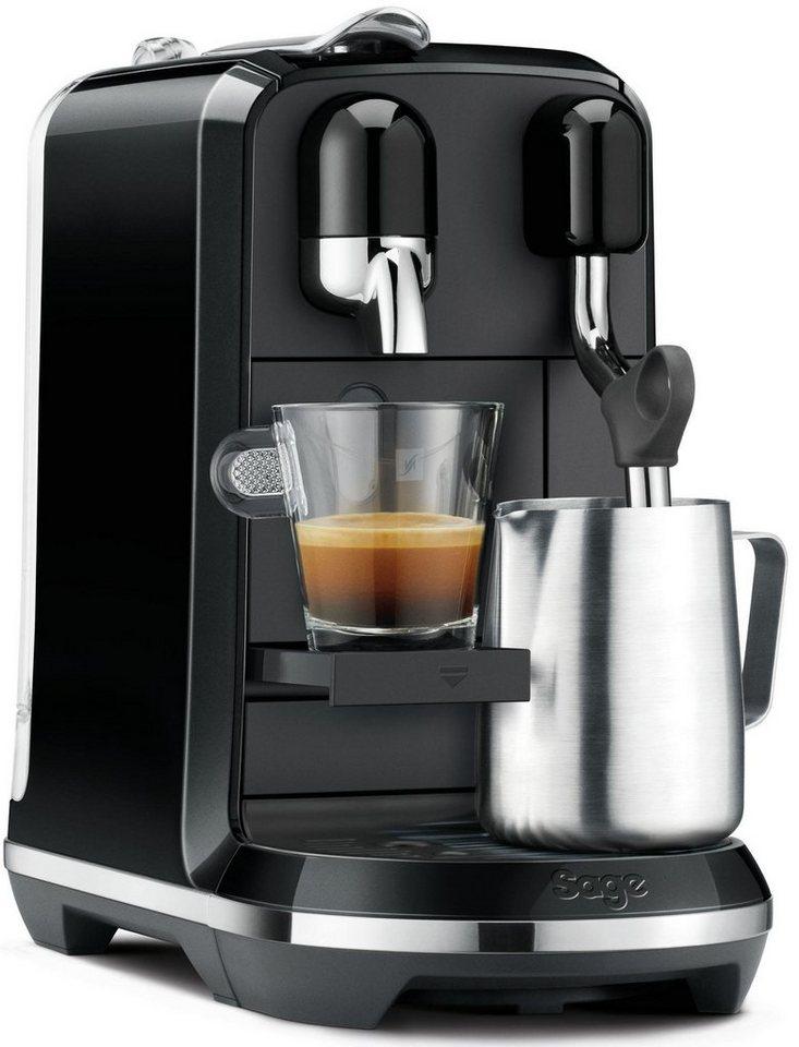 Nespresso Kapselmaschine Sage Nespresso Maschine The Creatista Uno
