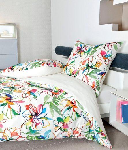 Wendebettwäsche »modern art 42038«, Janine, mit floralem Muster