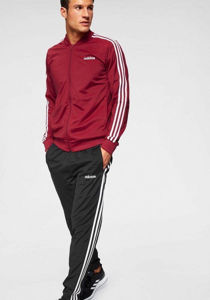 36450c7250 adidas Trainingsanzug »MEN TRACK SUIT B2BAS 3 STRIPES C« (Set, 2 tlg ...