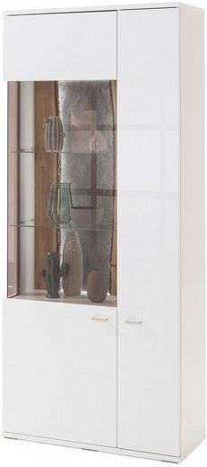 set one by Musterring Stauraumvitrine »TACOMA«, Typ 05/06, Höhe 207, 4 cm, mit getönter Glastür