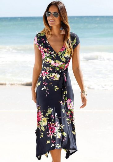 Beachtime Sommerkleid mit Zipfelsaum