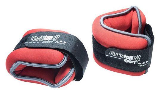 Christopeit Sport® Gewichtsmanschette »Gewichtsmanschette 2 x 2,0 kg«, 4 kg, (Set, 2-tlg)