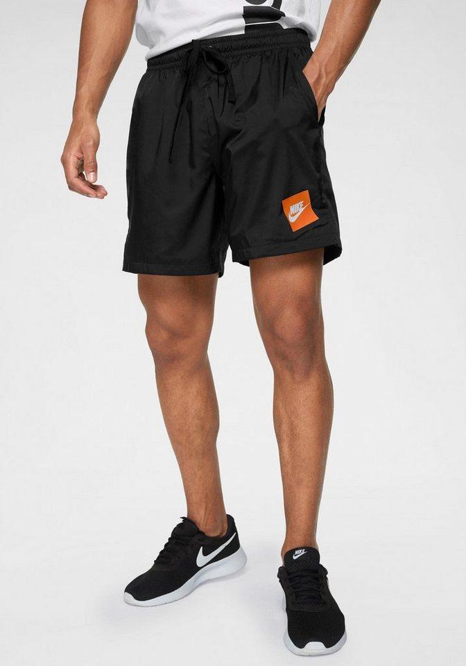 4decfdd7ccf276 Nike Sportswear Shorts »MEN NIKE SPORTSWEAR WOVEN FLOW SHORTS ...