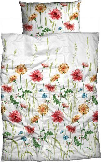 Bettwäsche »Adelano«, CASATEX, mit Blumenwiesendruck