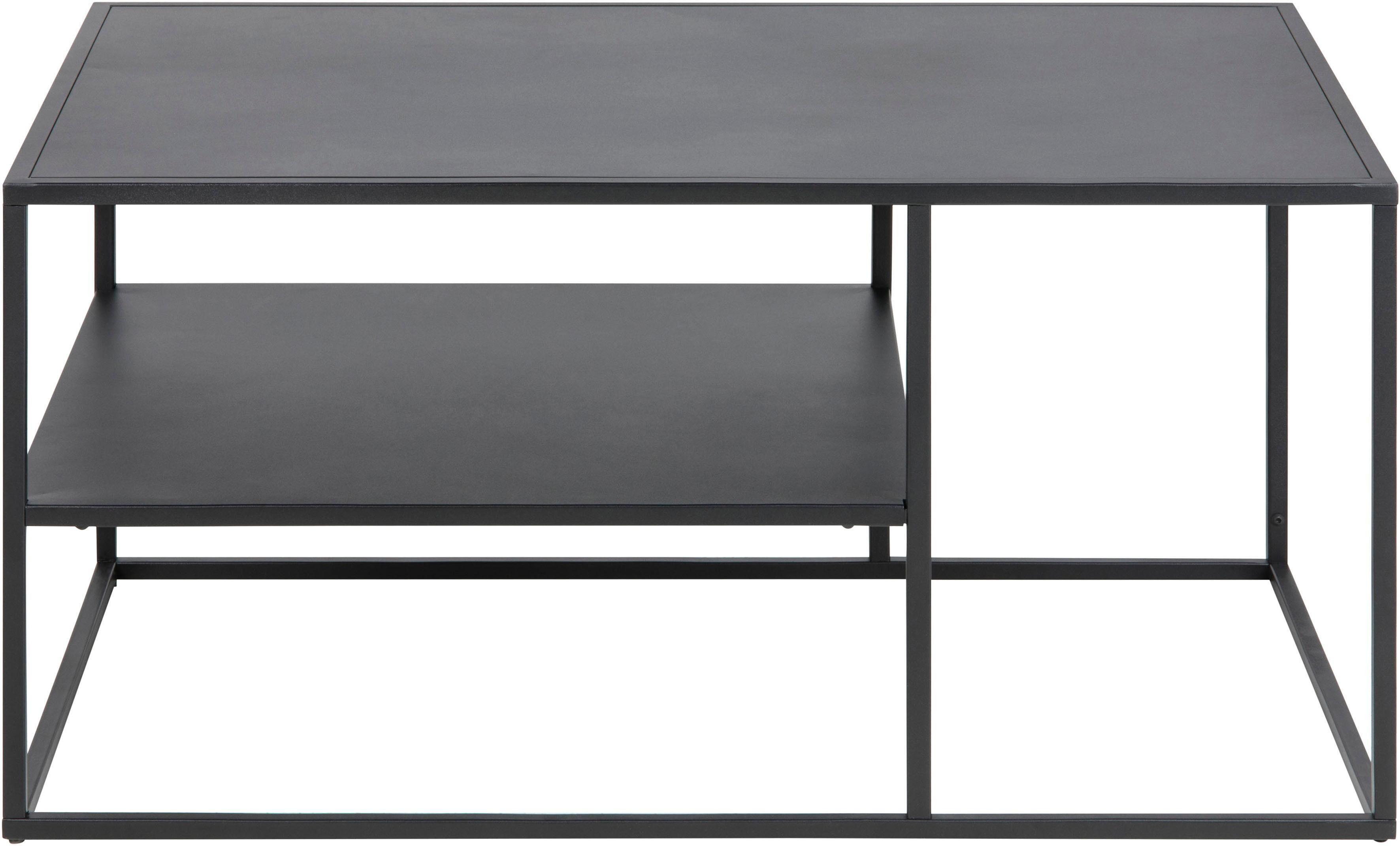 andas Couchtisch »Vilho« aus einem schönen, schwarzen Metallgestell, Breite 90 cm