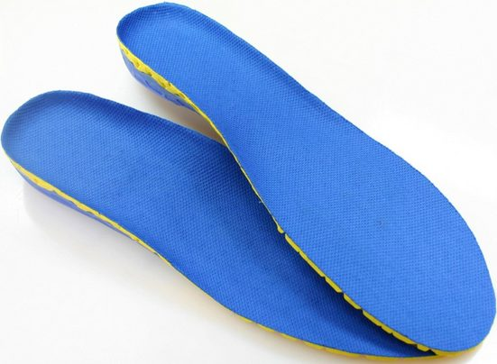 Maximex Einlegesohlen »92388S / 92388L« (Packung, 2-tlg., Damen- und Herrenvariante), eingebaute Sprungfedern schonen die Gelenke