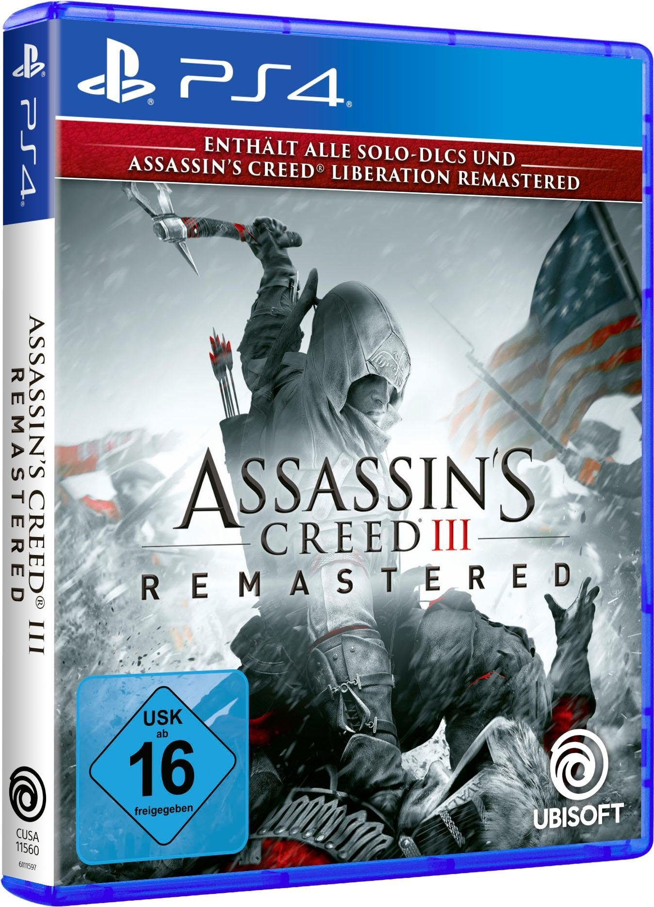Assassin's Creed 3 Remastered PlayStation 4
