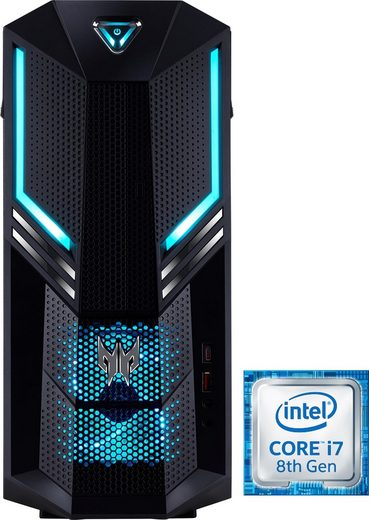 Acer Predator Orion 3000 (PO3-600) Gaming-PC (Intel Core i7, RTX 2070, 16 GB RAM, 1000 GB HDD, 512 GB SSD)