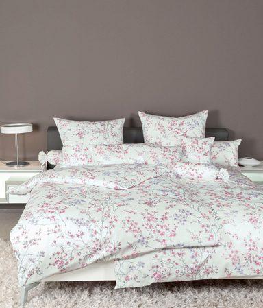 Bettwäsche »Carmen 53078«, Janine, mit floralem Muster