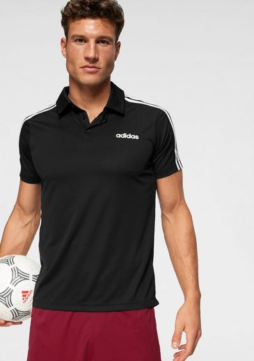 adidas Funktionsshirt »DESIGN TO MOVE 3 STRIPES POLO«