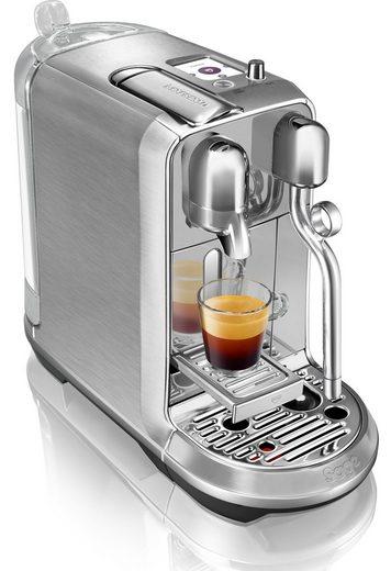 Nespresso Kapselmaschine »The Creatista Plus, SNE800BSS4EGE1 «, gebürstetes Edelstahl
