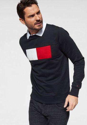 TOMMY HILFIGER Sweatshirt »FLAG CHEST LOGO SWEATSHIRT«