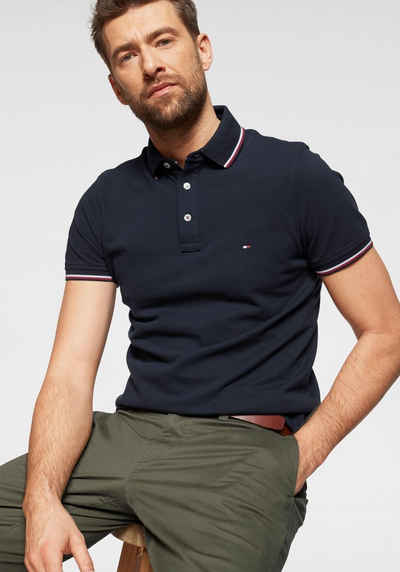 e16586d85ef99d TOMMY HILFIGER Poloshirt »TOMMY TIPPED SLIM POLO«