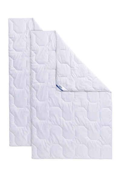 Microfaserbettdecke, »2 für 1«, Beco, Bezug: 2. Decke gratis dazu, 1 Gratis-Decke, kuscheliger Microfaser-Bezug