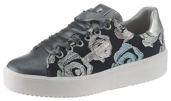 Dockers by Gerli Sneaker mit aufwendiger Stickerei