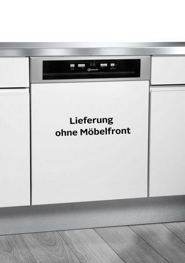 BAUKNECHT teilintegrierbarer Geschirrspüler, OBBC Ecostar A3+ F X, 9,5 l, 14 Maßgedecke