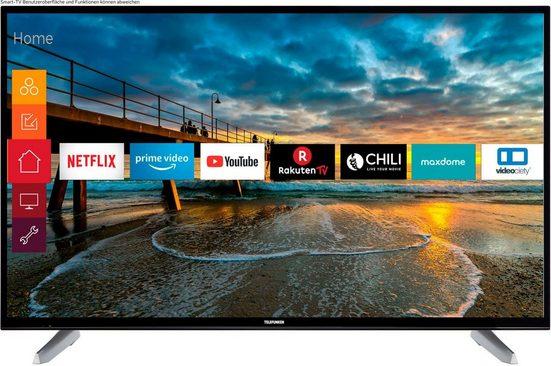 Telefunken D50U600M4CWII LED-Fernseher (126 cm/50 Zoll, 4K Ultra HD, Smart-TV, 36 Monate Garantie)