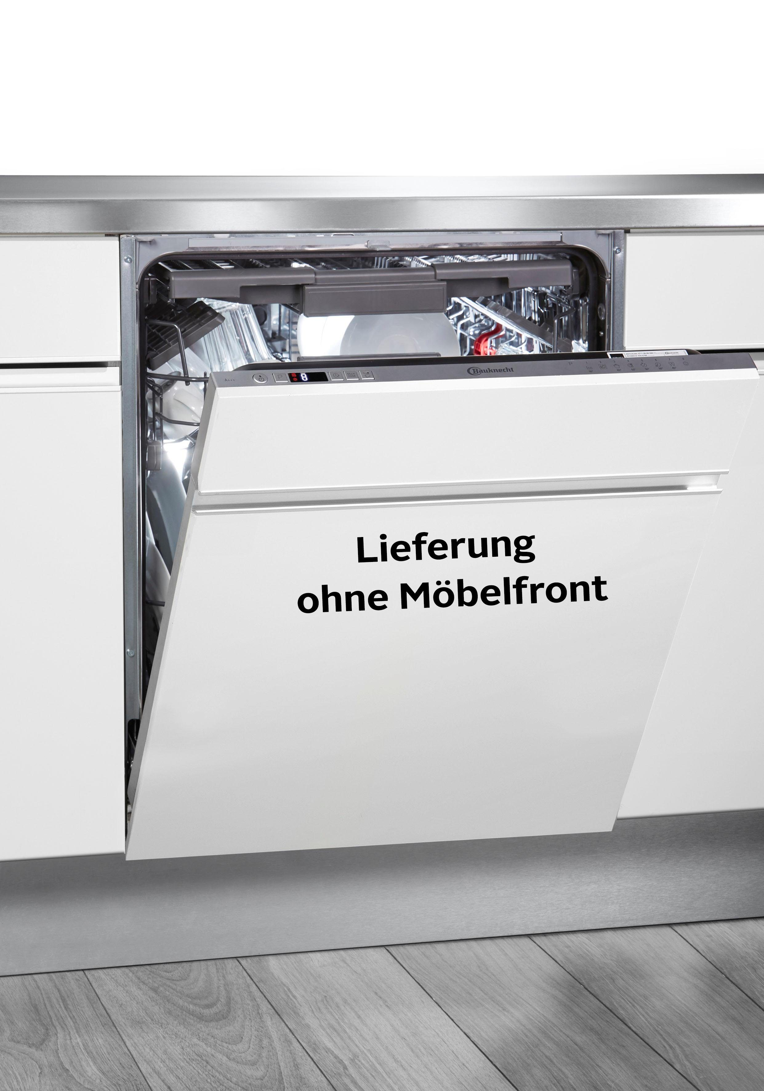 BAUKNECHT integrierbarer Geschirrspüler, OBIO ECOSTAR A3+ F S, 9,5 l, 14 Maßgedecke