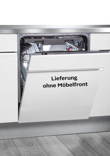 BAUKNECHT vollintegrierbarer Geschirrspüler, OBIO ECOSTAR A3+ F S, 9,5 l, 14 Maßgedecke