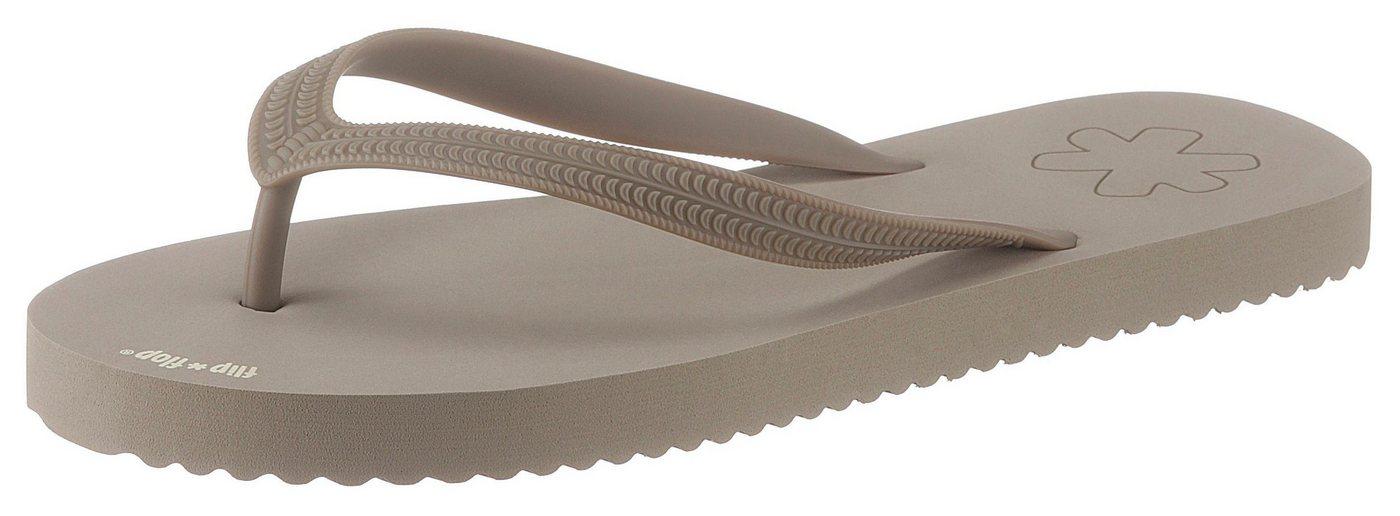 Flip Flop Zehentrenner frei von tierischen Bestandteilen | Schuhe > Sandalen & Zehentrenner > Zehentrenner | Braun | Flip Flop