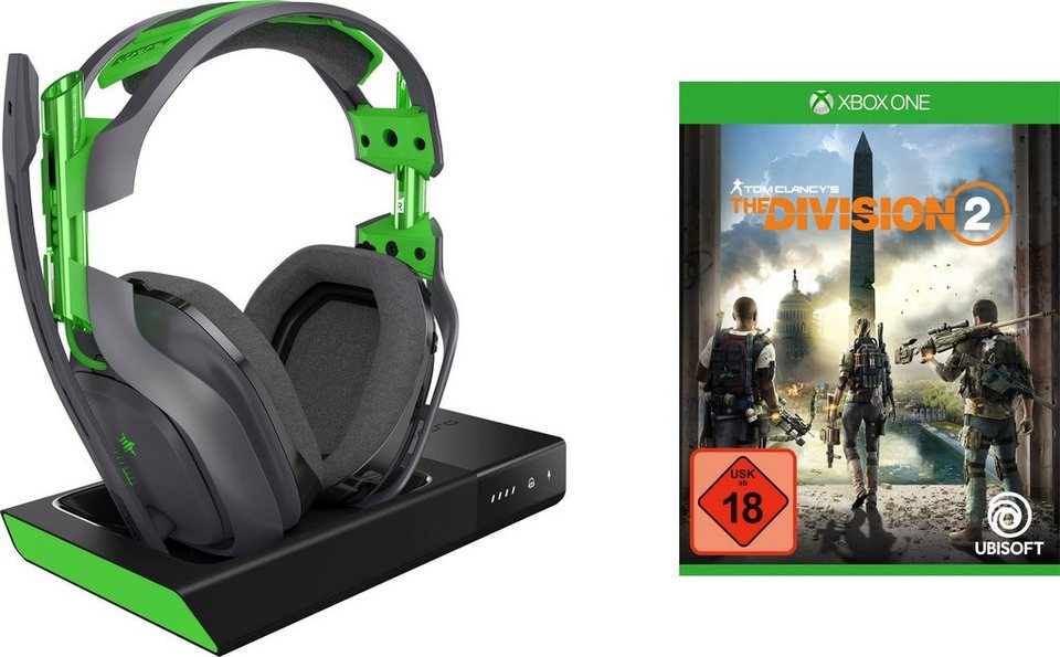 astro a50 f r xbox und pc gaming headset incl the. Black Bedroom Furniture Sets. Home Design Ideas