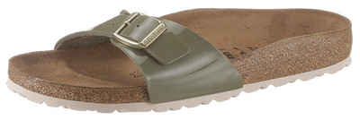 0a27282933ebda Birkenstock »MADRID BF« Pantolette in Lack-Optik und schmaler Schuhweite