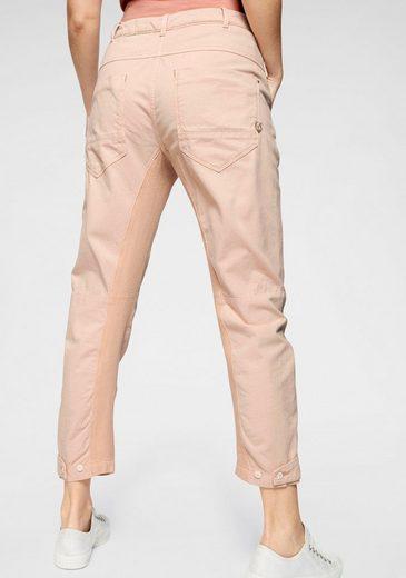 G-Star RAW 5-Pocket-Jeans »Army radar mid bf wmn« mit Knieabnähern
