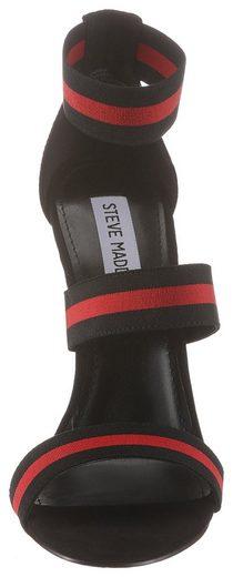 Trendigen High Madden Steve Mit »carina« heel sandalette Streifen c84YqOYwy