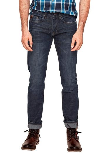 s.Oliver Slim-fit-Jeans »CLOSE« mit Destroyed-Effekten
