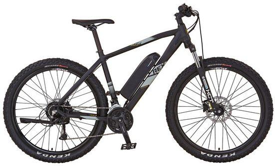 REX Bike E-Bike »GRAVELER e9400 OTTO Edition«, 24 Gang Shimano Deore Schaltwerk, Kettenschaltung, Heckmotor 250 W, (Set, mit Pannenset)