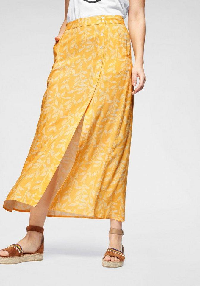 online retailer d3a21 bce24 Blendshe Sommerrock in der Trendfarbe gelb mit Allover-Print online kaufen  | OTTO