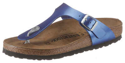9f216435a548 Birkenstock »GIZEH BF ELECTRIC METALLIC« Zehentrenner im Metallic-Look