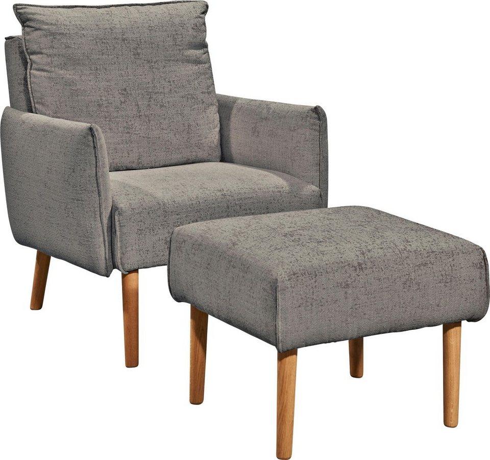 Schöner Wohnen Kollektion Hocker Merit 5442 Passend Zu Sessel