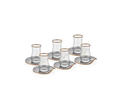 Neva Teeglas »Neva Grizay Teegläser Plus 12-teiliges Tee-Set«, Glas